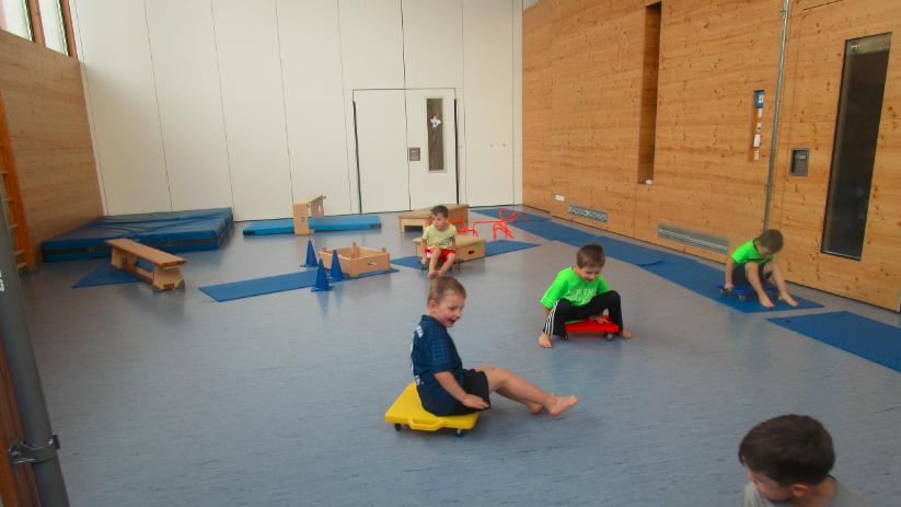 Kooperation KiSS und Kinderbewegungshaus Sportissimo